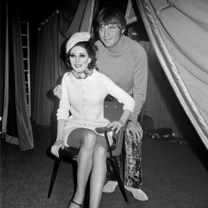 Bobbie with Joe South, 1969