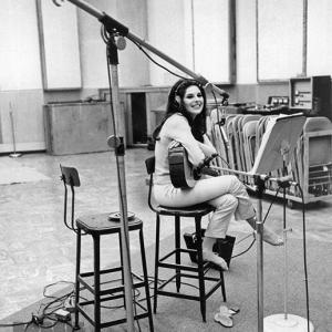Bobbie recording at Capitol Studios 1967