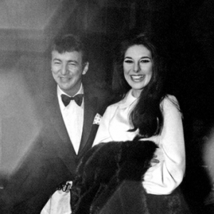 Bobbie with Bobby Darin, 1967