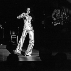 Bobbie performing her Elvis Tribute Las Vegas 1974