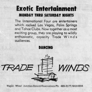 International Four advert, 1966