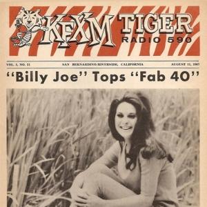 Bobbie on KFXM Magazine August 1967