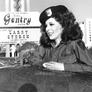 Bobbie at the Frontier Hotel, Las Vegas 1973