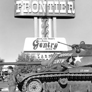 Bobbie at the Frontier Hotel, Las Vegas 1973 - 2