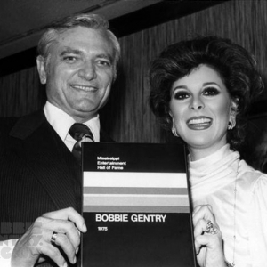 Induction into Mississippi Entertainment Hall of Fame 1975 with Governor Cliff Finch