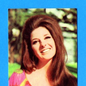 Panini collectible card, 1968