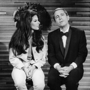 Bobbie & Perry Como on the Perry Como Holiday Special 1967 wm