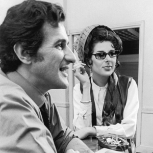Rehearsing her BBC series 1968