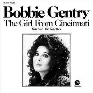 'The Girl from Cincinnati' US single cover 1972