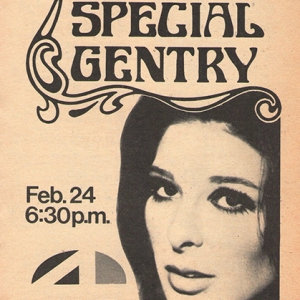 Advert for Bobbie's 1970 US TV programme 'The Special Gentry'